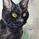 黒猫PortraitⅠ