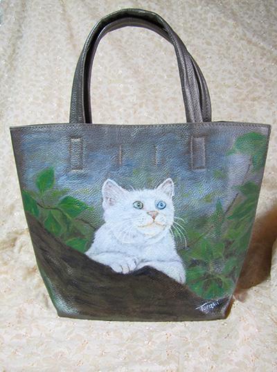 猫絵のバッグ
