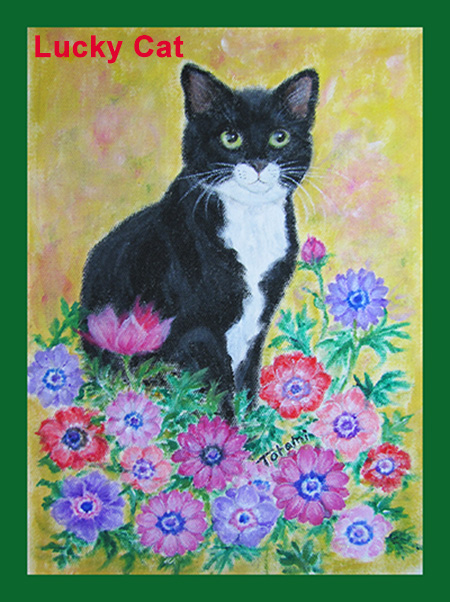 猫絵Lucky Cat